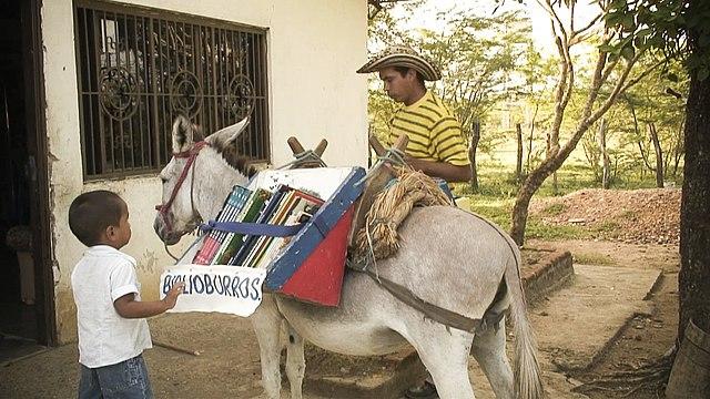 Biblioburro, Colombia