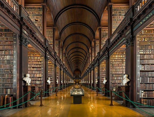 Trinity College Long Room, Dublin, Ireland