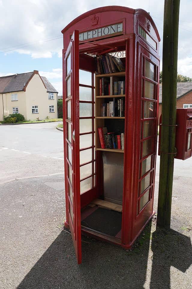 Phone box libraries