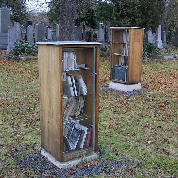 Graveyard library, Austria