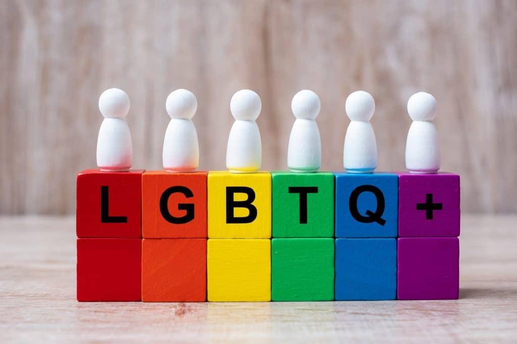 LGBTQ blocks